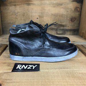 Bed Stu Duke II Black Leather Lace Up Chukka Boots